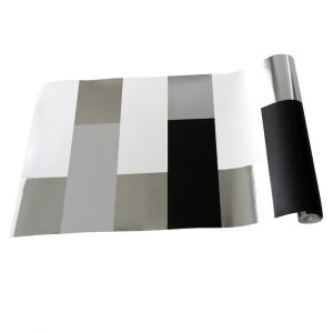 TAPETAI BLOCK Grey_White_Silver