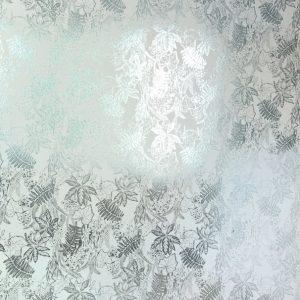 TAPETAI HOTHOUSE Jade_Silver_White
