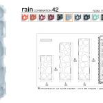 Gyvatukas Dekorama K8 Rain 1