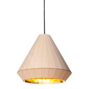 Sviestuvai pakabinamas dekorama wooden light