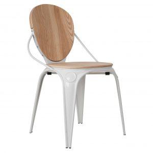 kėdė Louix-chair-natural-white