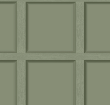 MODERN WOOD PANEL GREEN 12982